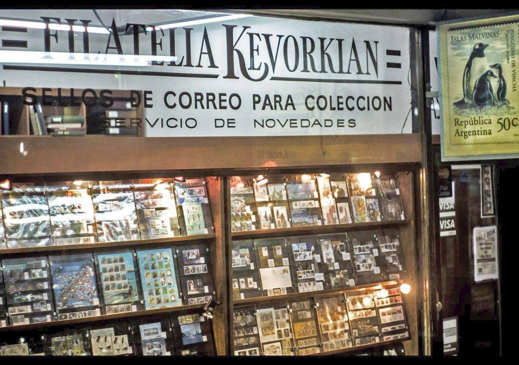 Filatelia Kevorkian